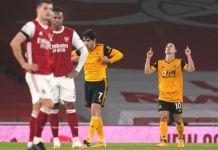 Daniel Podence grabbed the winner for Wolves over Arsenal