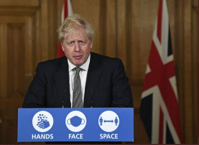 UK Prime Minister Boris Johnson has come under intense attack for his government's inconsistent messaging