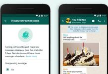 WhatsApp introduces disappearing messages
