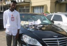 Williams Michael Ogwezi, also known as Dr. Williams was arrested by the EFCC for impersonation