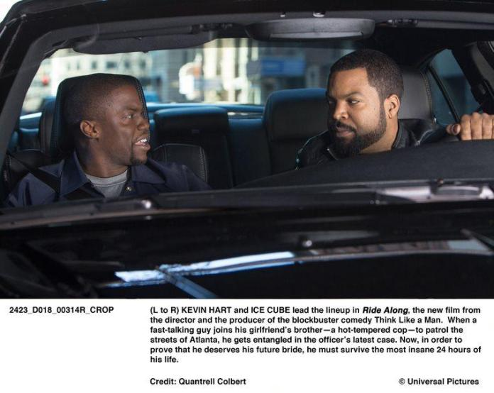 Kevin Hart and Ice Cube starred in Ride Along