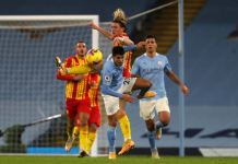 Manchester City played a dramatic draw against West Brom