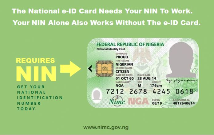 National Identity Number NIN
