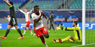 RB Leipzig dump Man United out of UCL