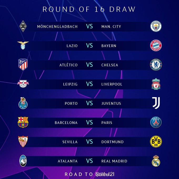 #UCLDraw Champions League 2021