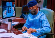 Vice President Yemi Osinbajo presides over the National Economic Council, NEC Ivermectin