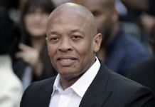 Music producer, Dr Dre is doing fine after a brain scare