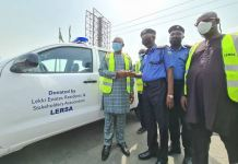 Lekki Estate Residents and Stakeholders Association (LERSA) has donated patrol van to the Ajah Division of the Nigeria Police Force