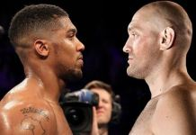 Anthony Joshua and Tyson Fury have signed a two-fight deal