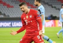 Bayern ease into Champions league last eight
