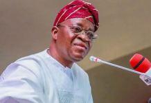 Osun state Governor Oyetola APC