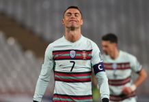 Ronaldo ditches his captain's armband and storms off the pitch in anger