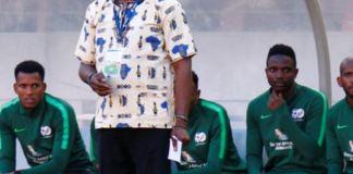 South Africa coach Molefi Ntseki