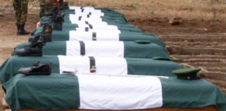 11 Soldiers buried in Benue