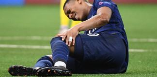 Anthony Martial out for the rest of the season due to knee injury