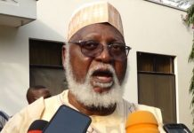 Former Head of state, Abdulsalami Abubakar said that about six million illicit weapons are in circulation in Nigeria