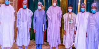 Governors meet Buhari over killings and Abduction