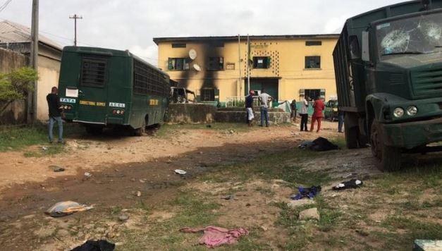Gunmen attack Owerri police Headquarters and Imo prison
