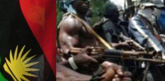 Gunmen wreak havoc, hoist Biafra Flags in Anambra
