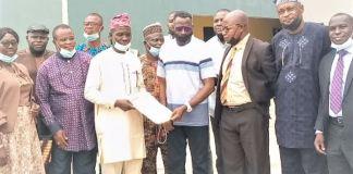 Hon. Tajudeen Ajide, chairman of Surulere Local Government Area of Lagos, nominated for a 'Developmental Leadership Award' at Obafemi Awolowo University