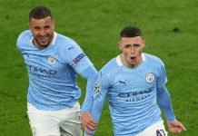 Mahrez, Foden seal Man City victory over Dortmund to reach semis