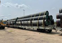 NNPC use rails to transport pipelines
