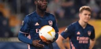 Nicolas Pepe hands Arsenal lifeline despite defeat to Villarreal