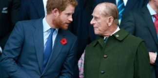 Prince Harry attends Prince Phillip's funeral without Meghan 2