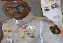 Chief Provost of Nigerian Immigration Service (NIS), Imo State Command, Okiemute Mrere