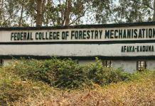 Federal College of Forestry Mechanisation, Afaka, Kaduna
