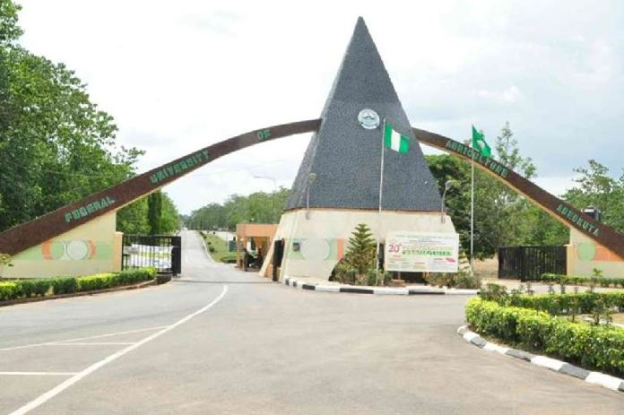 Gunmen have abducted a FUNAAB student