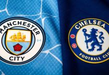 Manchester City vs Chelsea in the Champions League final