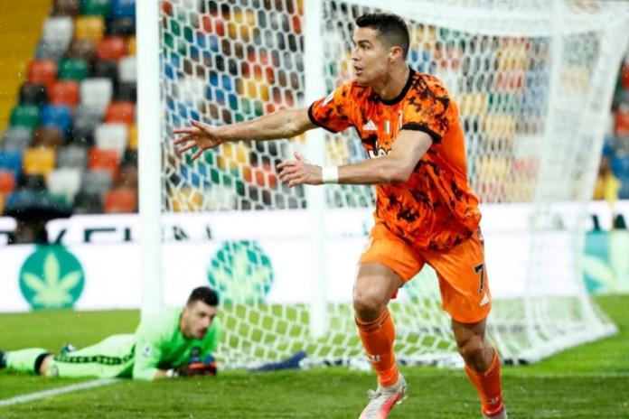 Ronaldo brace rescues dethroned Juventus against Udinese