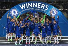 This is Chelsea's second Champions League win after winning the title in 2012