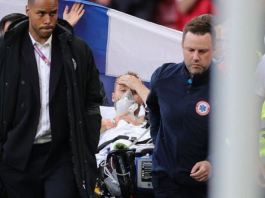 Christian Eriksen was rushed to the hospital and is now in stable condition