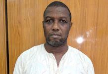 EFCC has arrested Abayomi Kamaldeen Alaka aka Awise for duping Bright Juliet of N250 million
