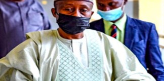 Farouq Lawan, former Chairman of the House of Representatives ad-hoc committee on Petroleum Subsidy bribe