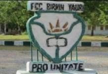 Federal government college, Birnin Yauri, Kebbi state