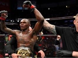 Israel Adesanya retains Middleweight title