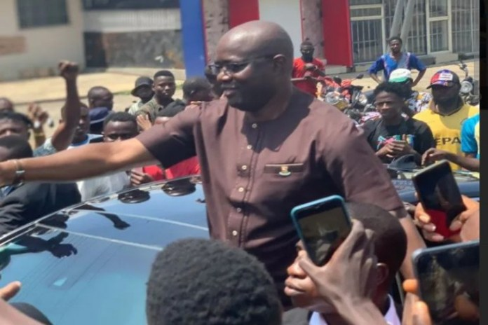 Seyi Makinde joined the June 12 protests in Ibadan