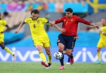 Spain draw with Sweden