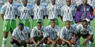 Super Eagles squad, AFCON 1994 winners