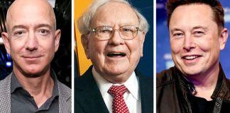 The website says it has seen the tax returns of Jeff Bezos, Warren Buffet and Elon Musk