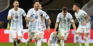 Argentina beat Colombia on penalties to reach Copa America final