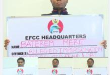 EFCC arrests four internet fraudsters in Abuja