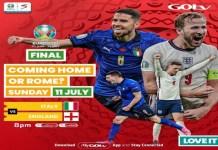 Euro 2020 final on GOtv
