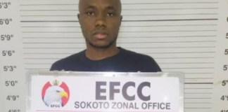 Joseph Oladapo Philips was convicted for internet fraud