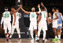 Nigeria beat Argentina 94-71 in an exhibition game in Las Vegas, USA