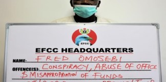 Pastor Fred Omosebi was arraigned by EFCC for diverting church funds for personal use