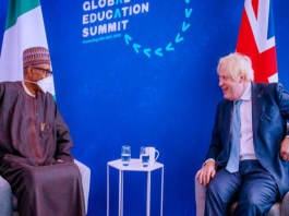 President Muhammadu Buhari an UK PM, Boris Johnson